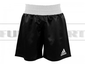 Spodenki bokserskie - Adidas Multiboxing Black-White