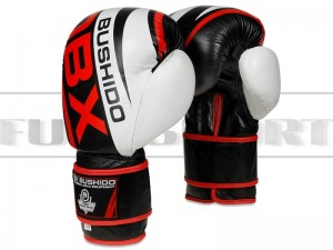 Rękawice bokserskie DBX Bushido B-2v7 -leather