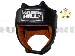 Kask turniejowy GREEN HILL - FIVE STAR Black