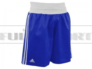 Spodenki bokserskie - Adidas BOXING SHORTS ADIBTS02 Blue