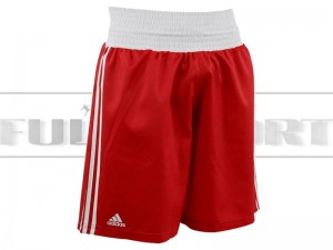 Spodenki bokserskie - Adidas BOXING SHORTS ADIBTS02 Red