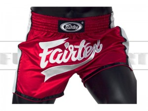 Spodenki Muay-Thai FAIRTEX - BS1704 New Styl Red-White