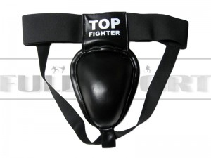 Suspensor metalowy krocza - Top Fighter