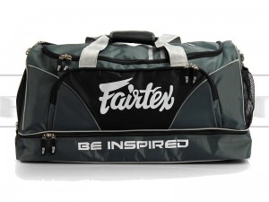 BAG2 - Torba sportowa Fairtex Heavy Duty Szara