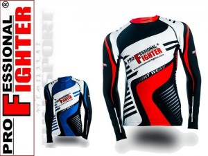 Rashguard Professional Fighter Akira - long