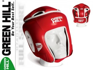 Kask turniejowy GREEN HILL WIN -Red