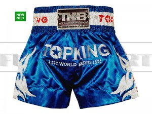 Spodenki Muay-Thai TOP KING - TKTBS-WS World Series Blue