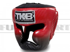 Kask bokserski Top King SUPER STAR Red