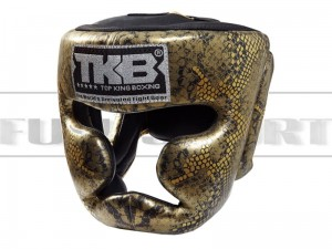 Kask bokserski Top King SUPER STAR SNAKE Black-Gold