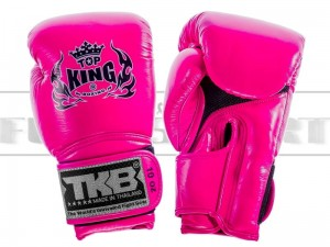 Rękawice bokserskie Top King SUPER AIR - Neon Pink