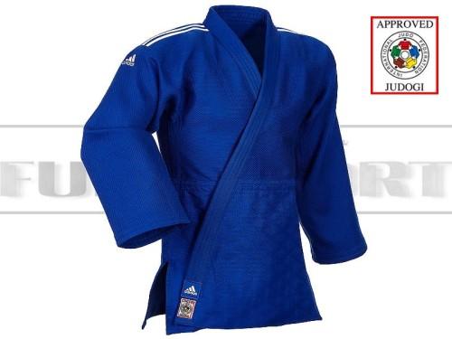 IJF Judoga Adidas Champion II J730 Niebieska Normal